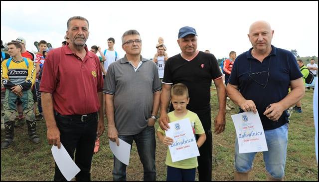 Legende kluba Marušić Mihailo, Marušić Miloš, Branko Savić i Gojko Jevtović