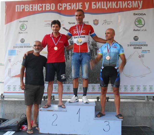 Toni Smiljanić i Bojan Vasović, mastersi B, prvi i drugi na brdskom Prvenstvu Srbije