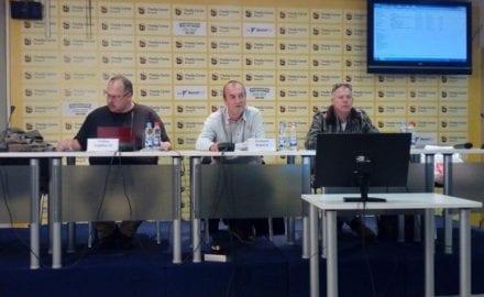 Недим Сејдиновић, Светозар Раковић и Бошко Савковић фото УНС, К. Ковач