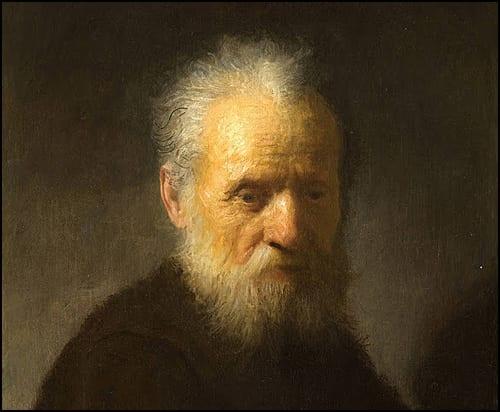 Старац-с-брадом-Рембрант--Извор