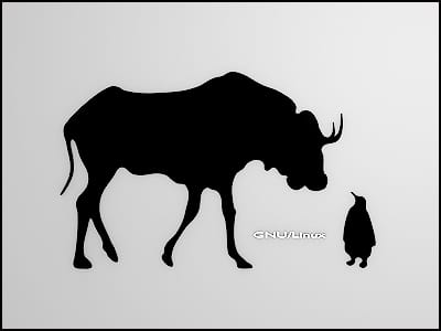 gnu-linux-black-wallpaper