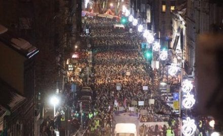 protest u Beogradu