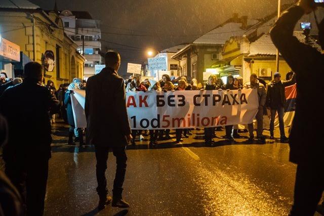 Protest Čačak