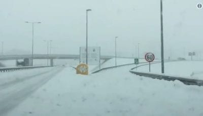 Sneg autoput