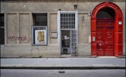 Nigel-Swann-Photo---Yellow-Star-Doors-Of-Budapest_