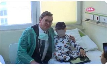 vučić u bolnici