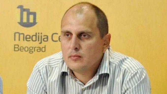 Željko Veselinović, predsednik Udruženih sindikata Srbije Sloga