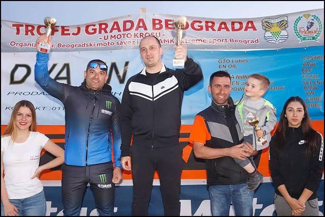 """Vlade-Rajević-Termorad-AMSK-Čačak,-ispred-Dejana-Paunovića-GTC-""""Racing""""-Kraljevo-i-Dejan-Matijevića-Termorad-AMSK-Čačak"""