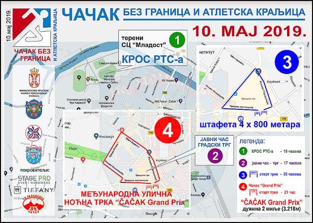 Mapa-trke