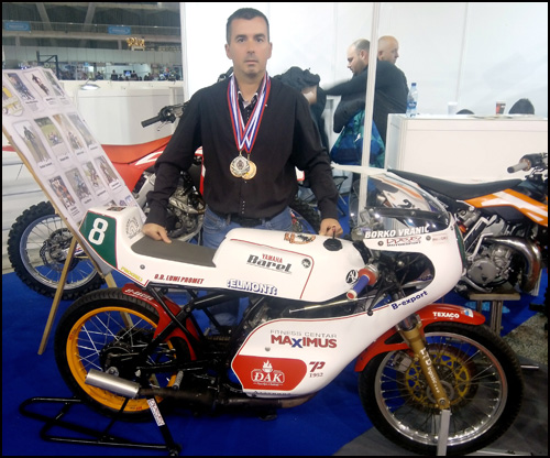 Borko Vranic dvostruki Moto klasik vicešampion