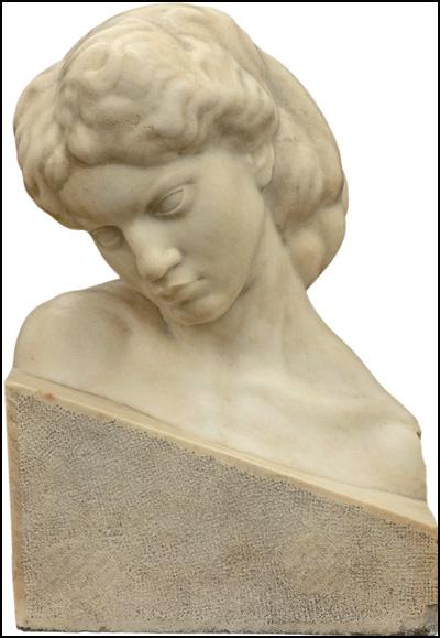 Moja-žeena-(portret-Ruža-Mešítrović),-1908,-mermer