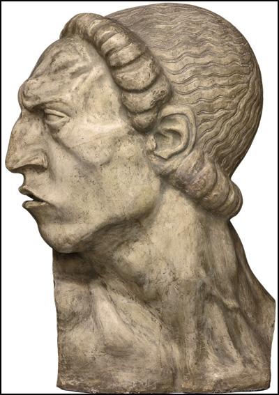 Srđa-Zlopogleđa,-1908,-gips