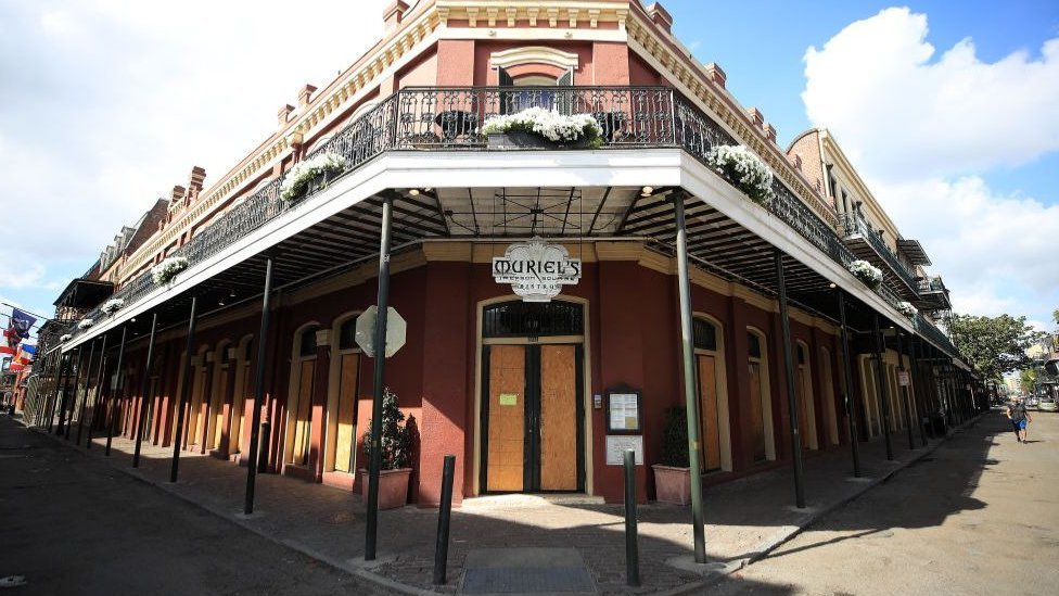 A club in New Orleans