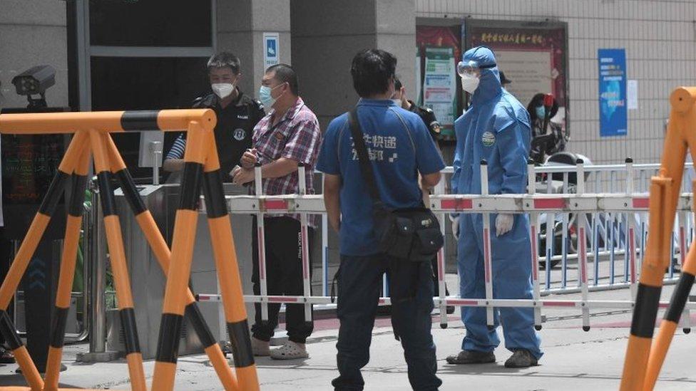 Bezbednosni punkt u Pekingu