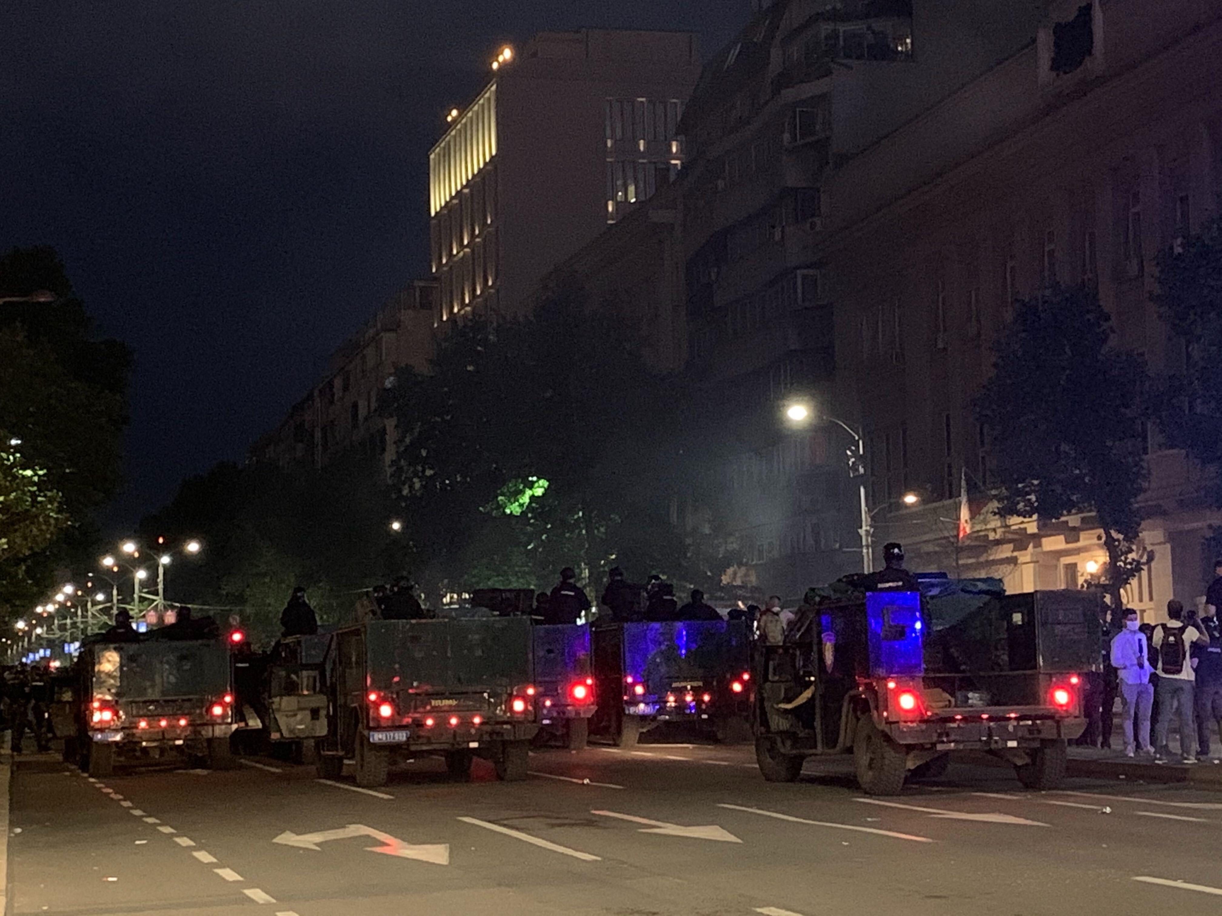 Policija u centru Beograda