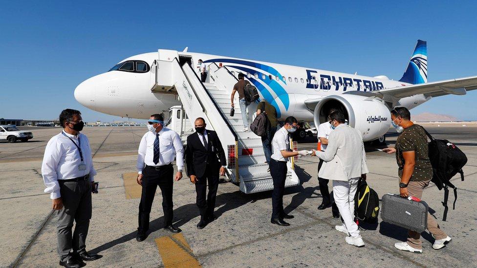 avion u egiptu