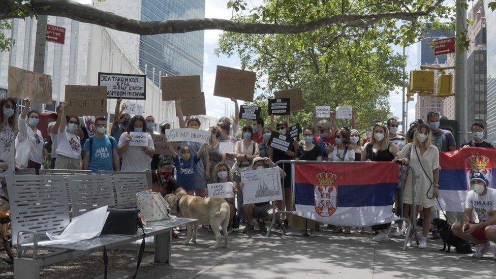 Protest u Njujorku