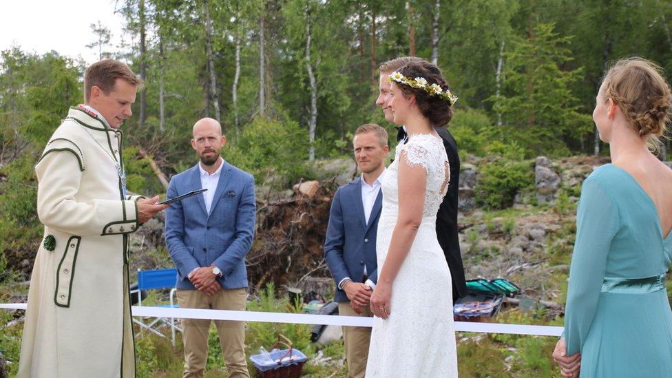 Venčanje u šumi