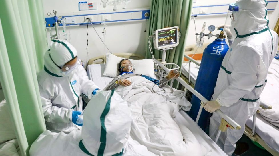 pacijent u bolnici u vuhanu