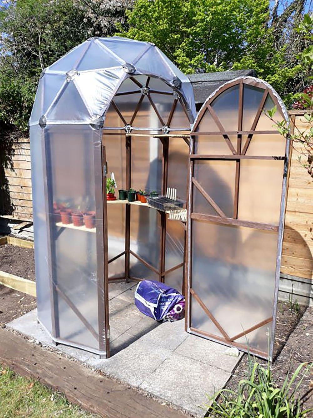 Home-made greenhouse