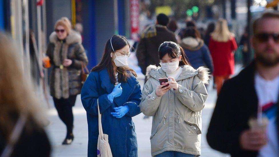 coronavirus two women bbc elvis