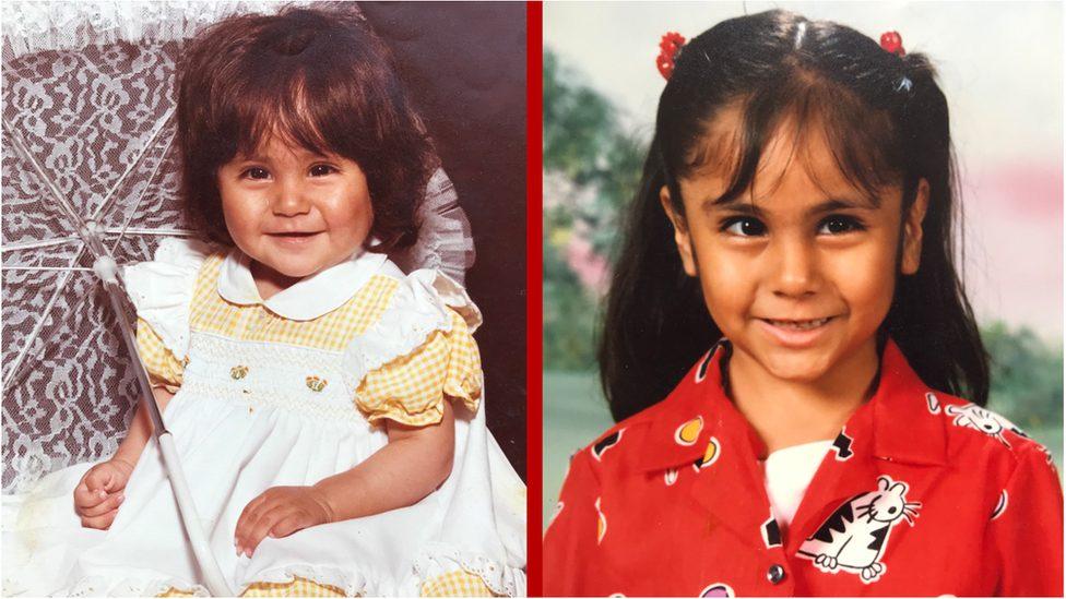 Yazmin's childhood images