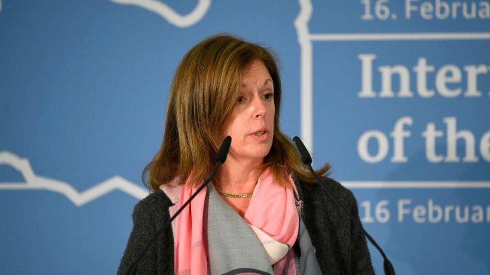 US diplomat Stephanie Williams, 16 Feb 2020