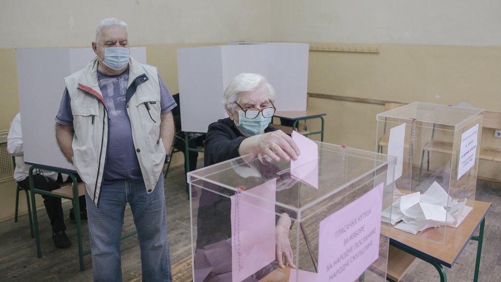 Glasanje u beogradskoj opštini Stari grad