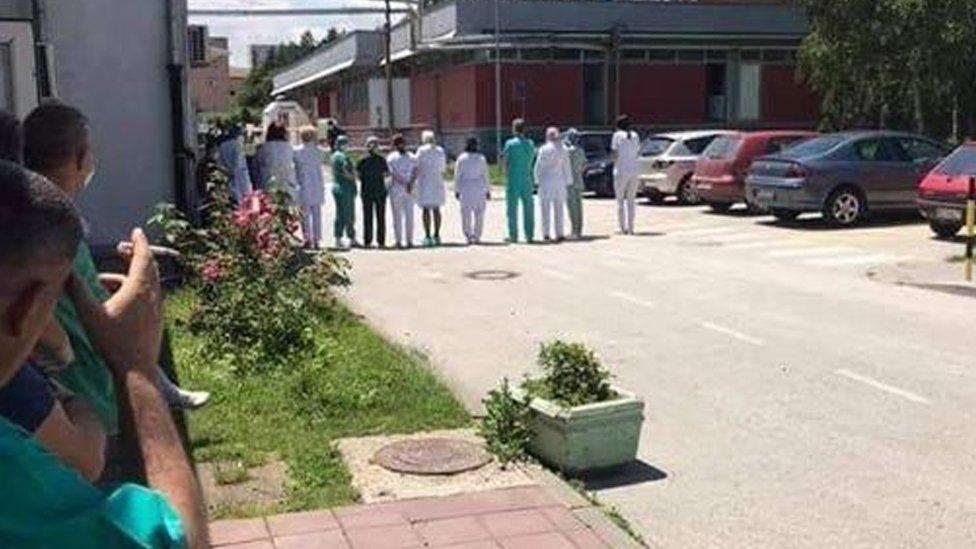 lekari i medicinski radnici u Novom Pazaru