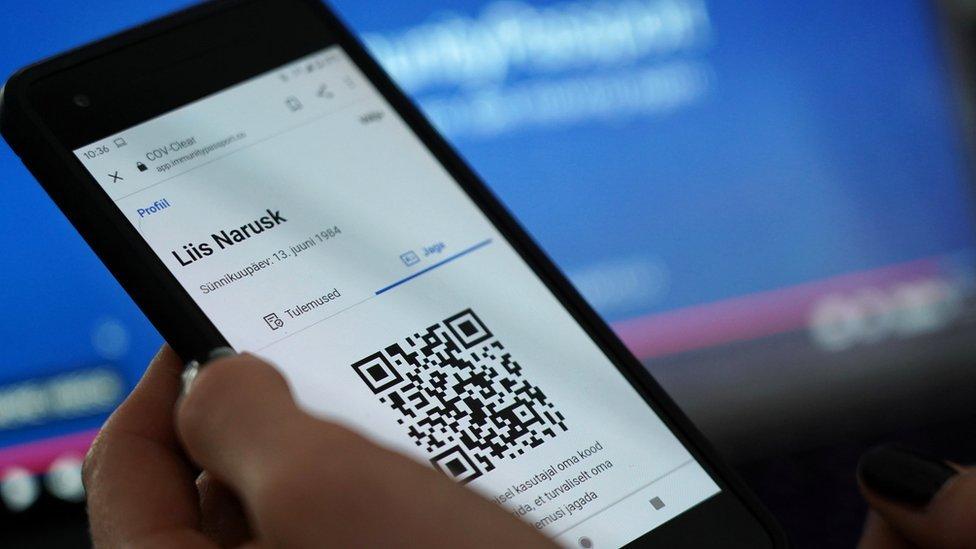 Aplikacija za pasoš imuniteta u Estoniji
