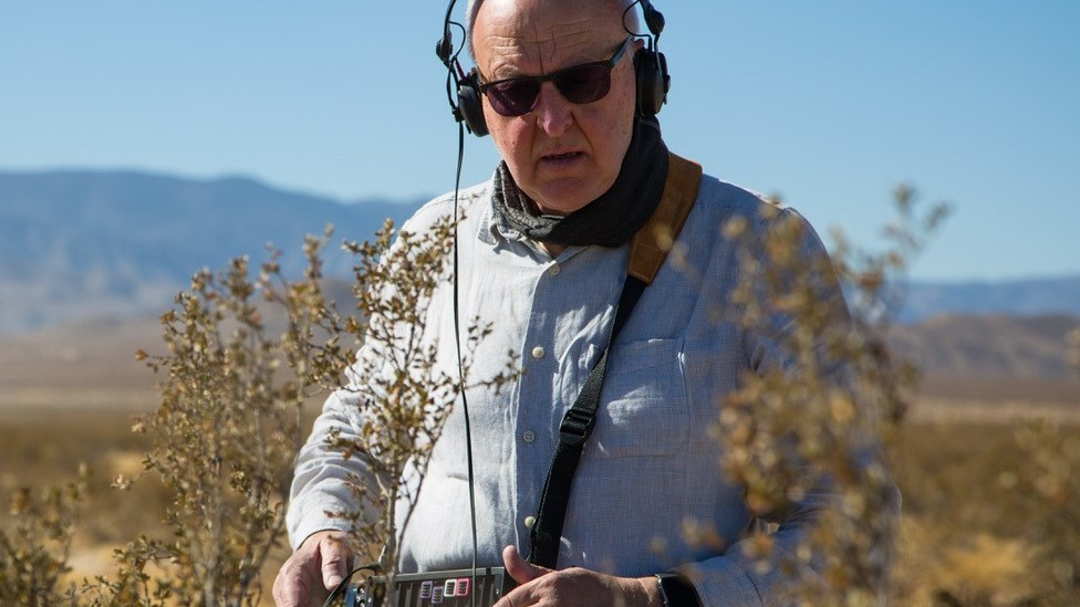 Chris Watson is a sound recordist who has worked with Sir David Attenborough for 30 years