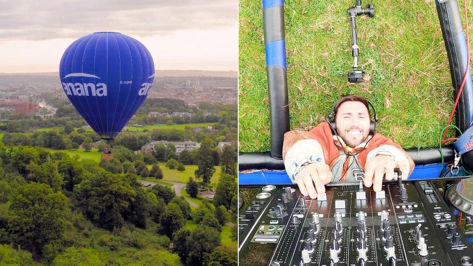 Hot Since 82's hot air balloon