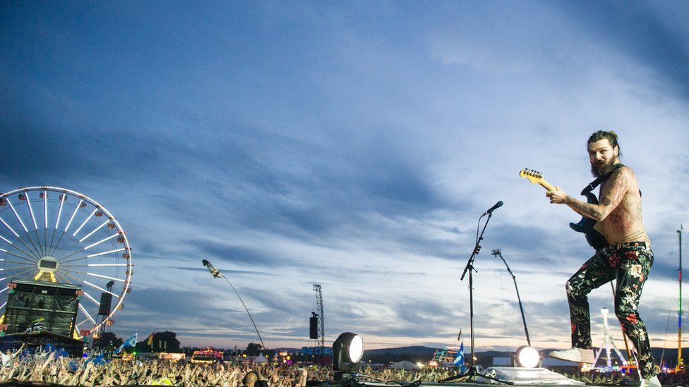 Biffy Clyro at T in the Park 2014