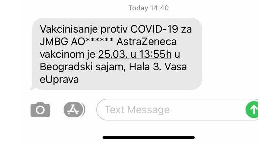 sms poruka