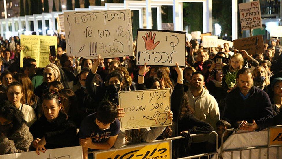 Akciя protivnikov privivok v Izraile