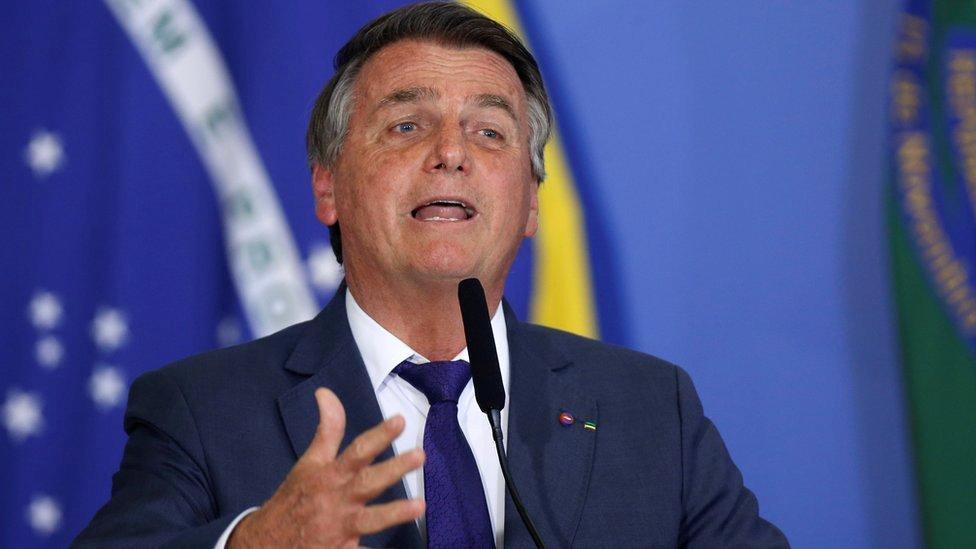 Predsednik Brazila Žair Bolsonaro