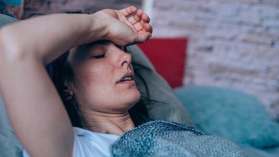 bolesna žena